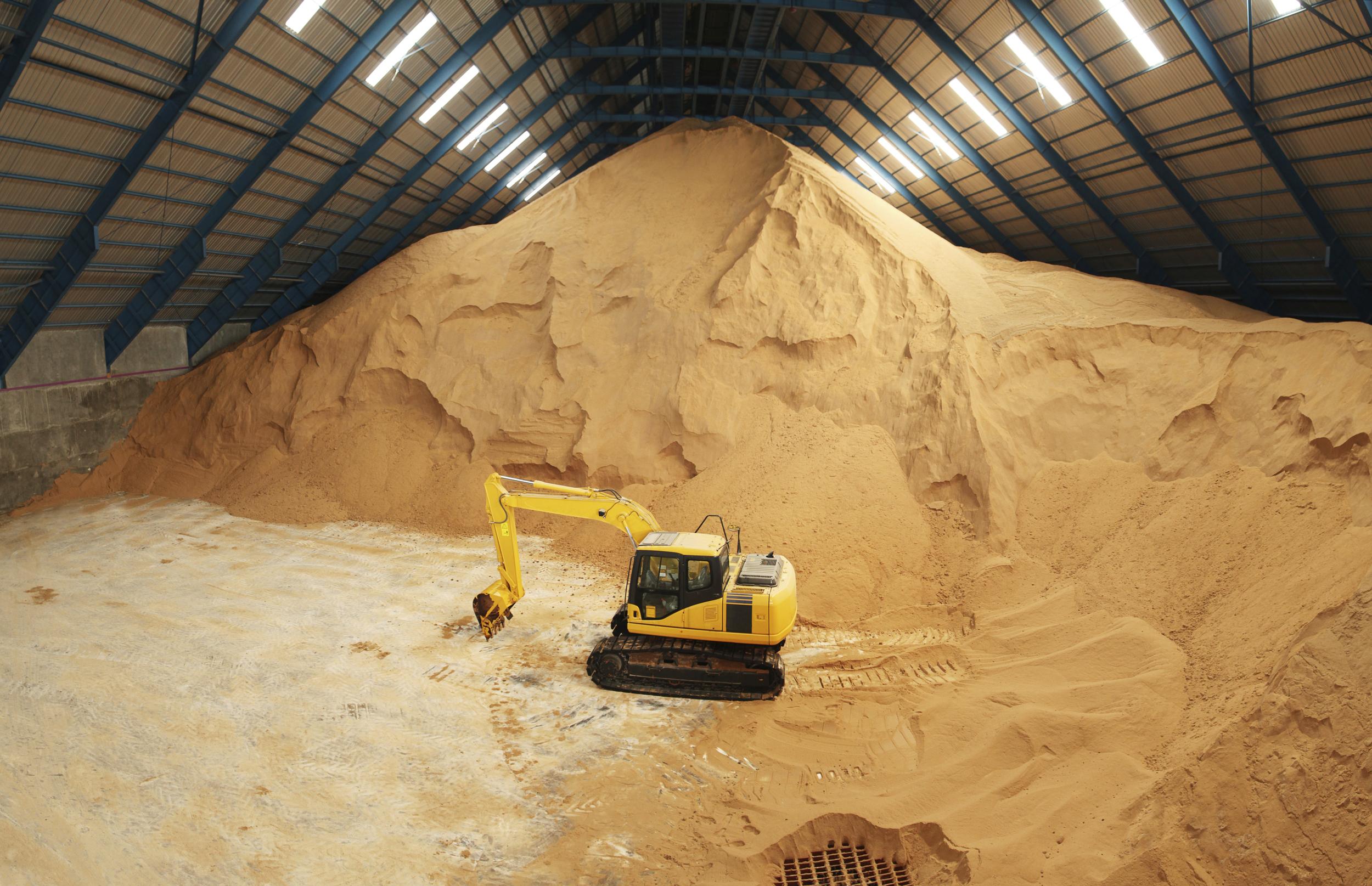 sugar warehouse