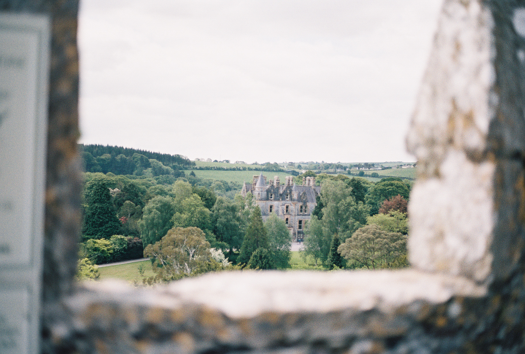 view-from-top-blarney-castle-ireland-european-honeymoon