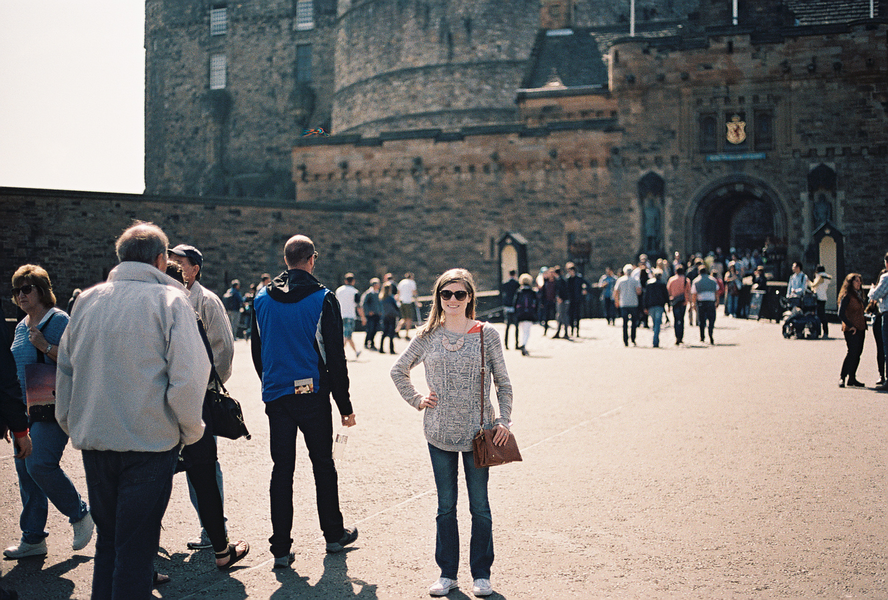 edinburgh-castle-entrance-scotland-european-honeymoon-35mm-film