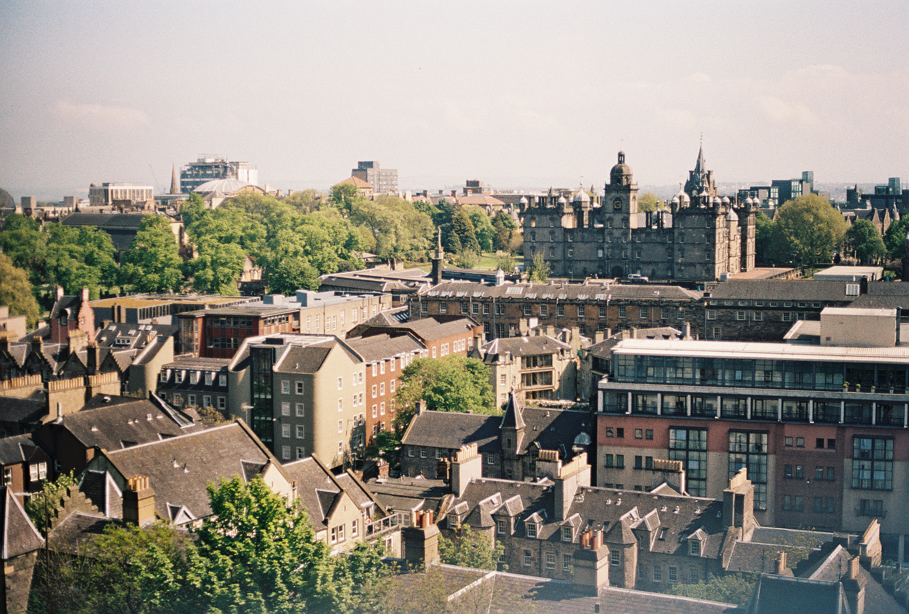 view-from-edinburgh-castle-scotland-european-honeymoon