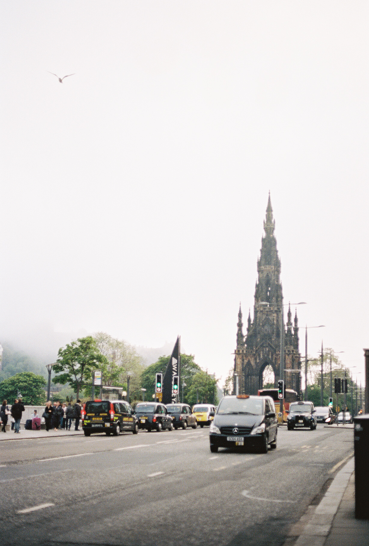 downtown-edinburgh-scotland-european-honeymoon-35mm-film