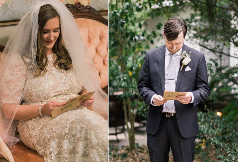 couple-reading-note-before-wedding