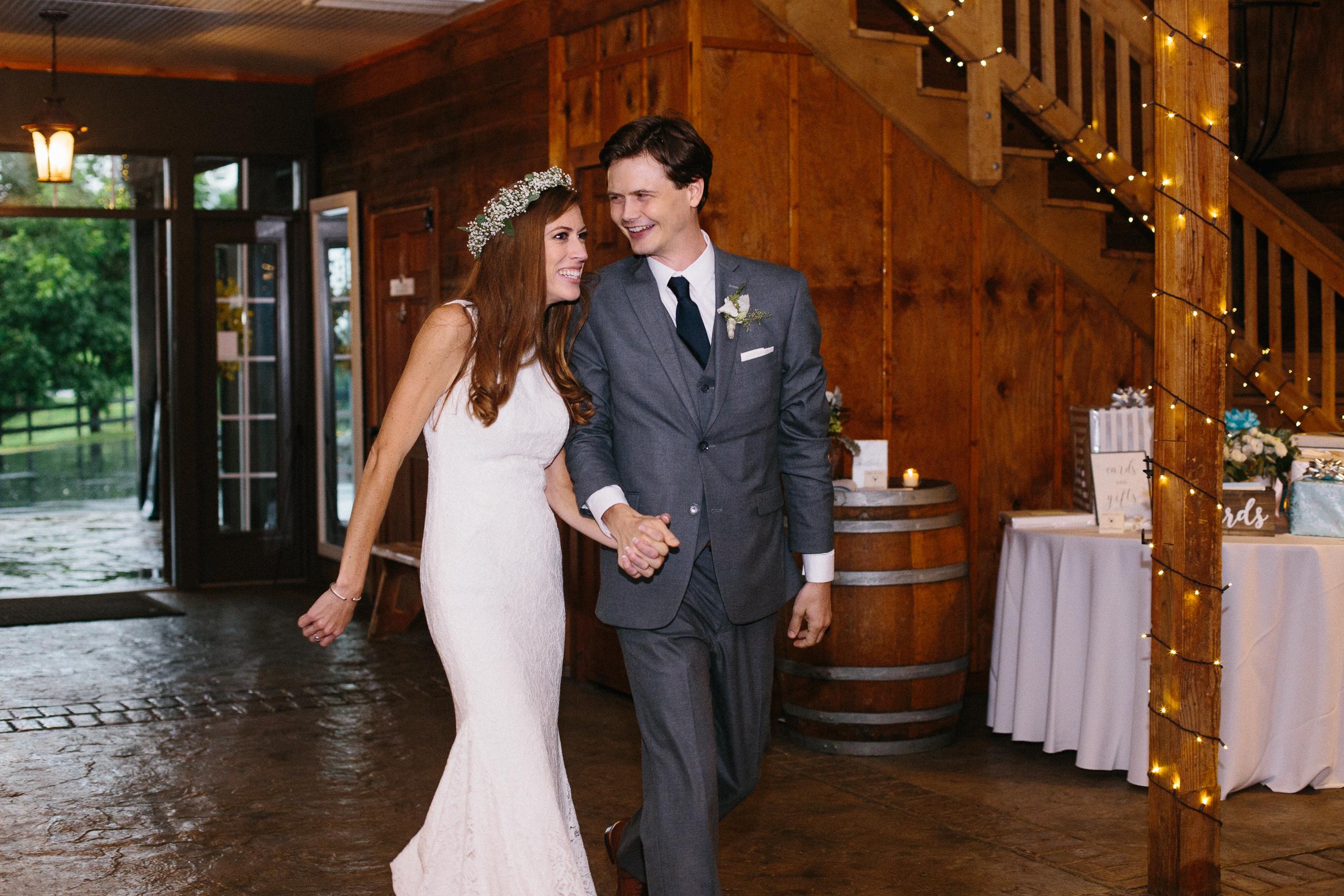 bride-and-groom-grand-entrance-bluemont-vineyard