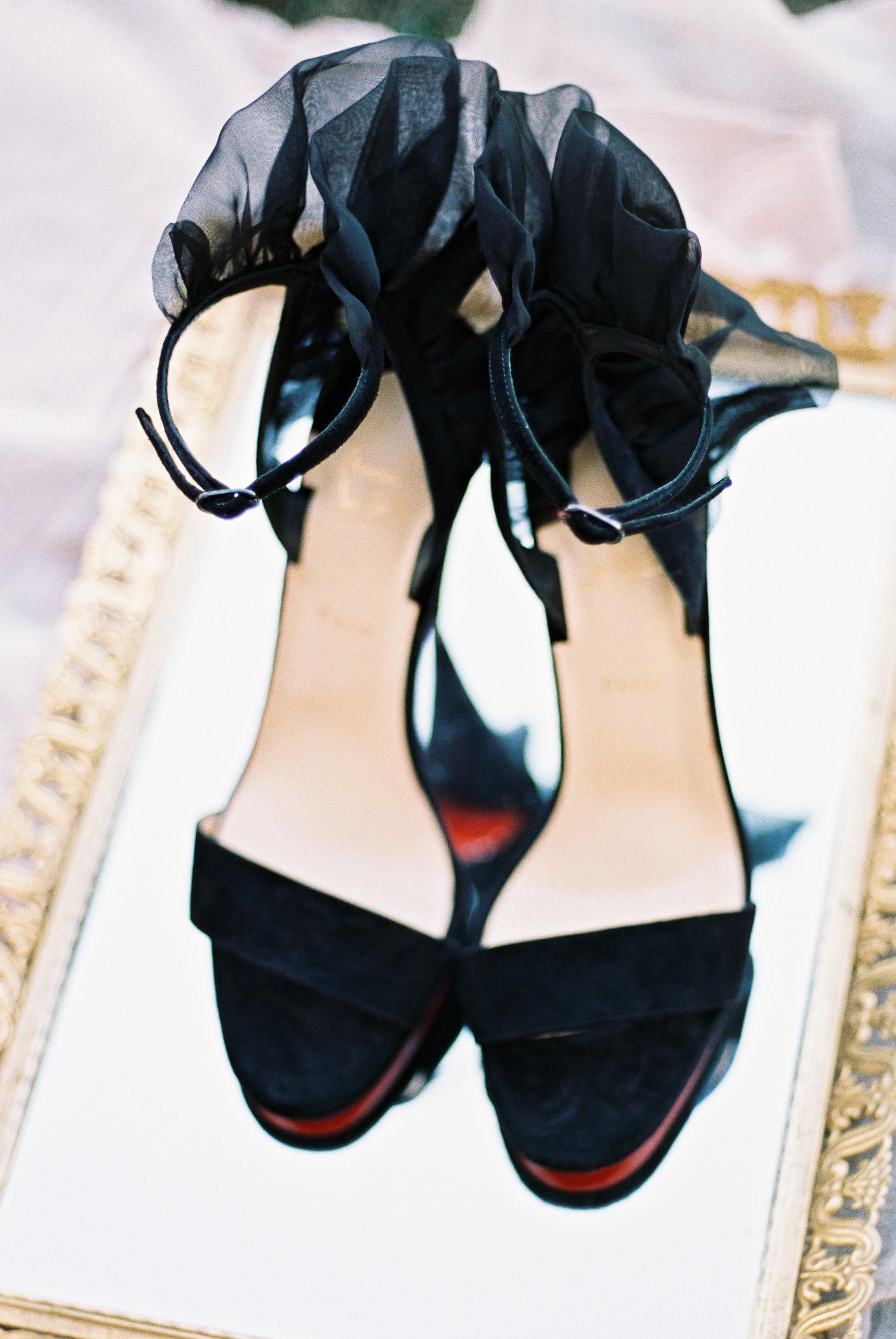 christian-louboutin-black-velvet-strappy-heels