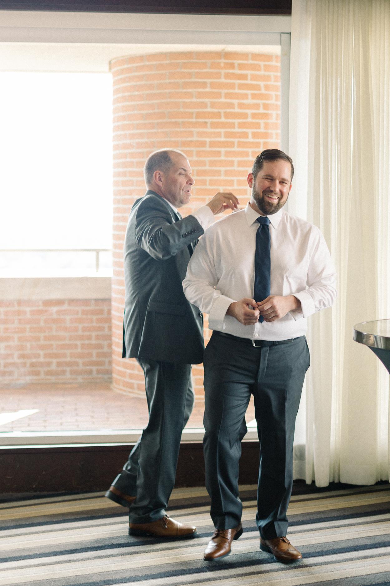 groom-getting-ready-tower-club-wedding