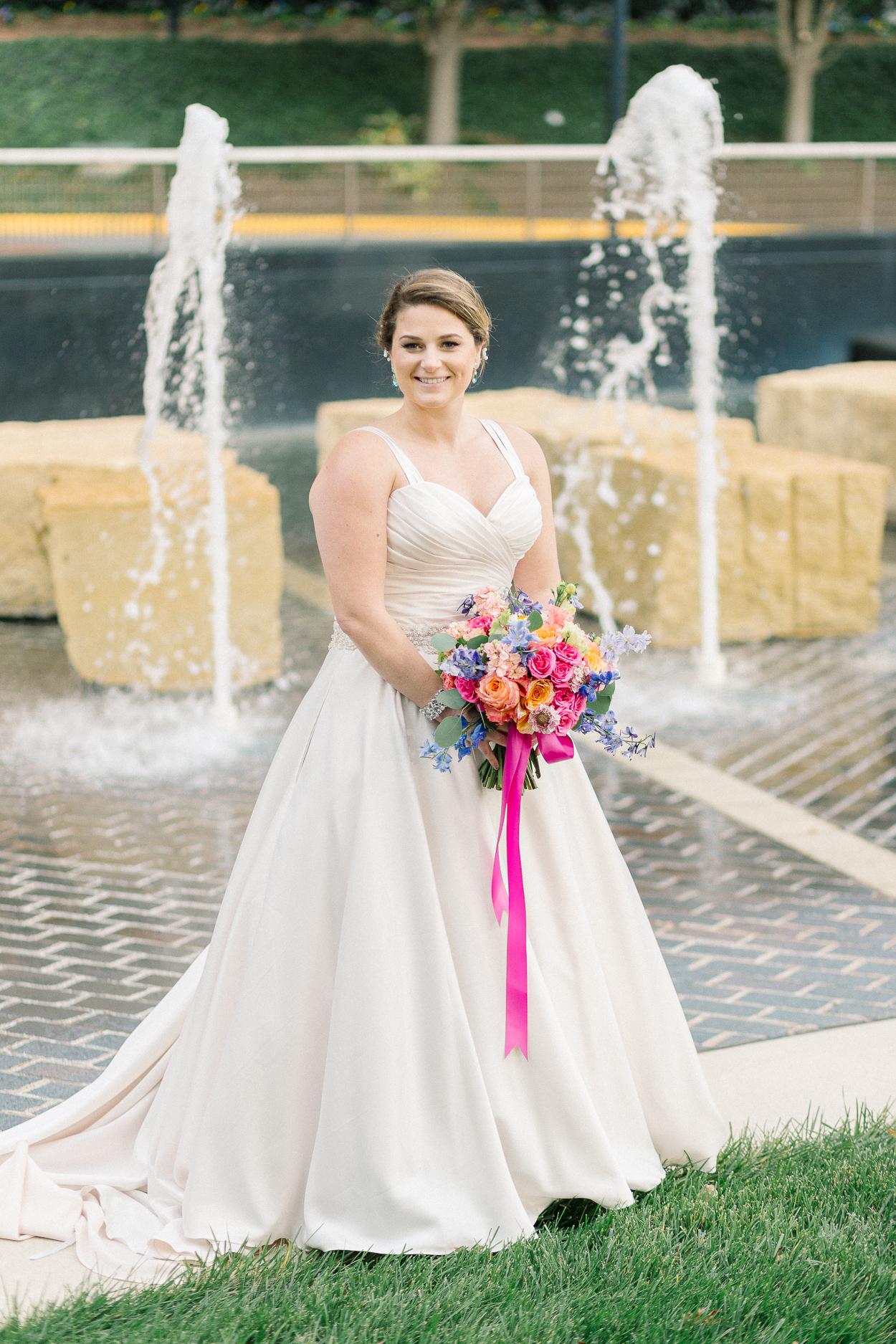 tower-club-wedding-bridal-portrait-at-fountain