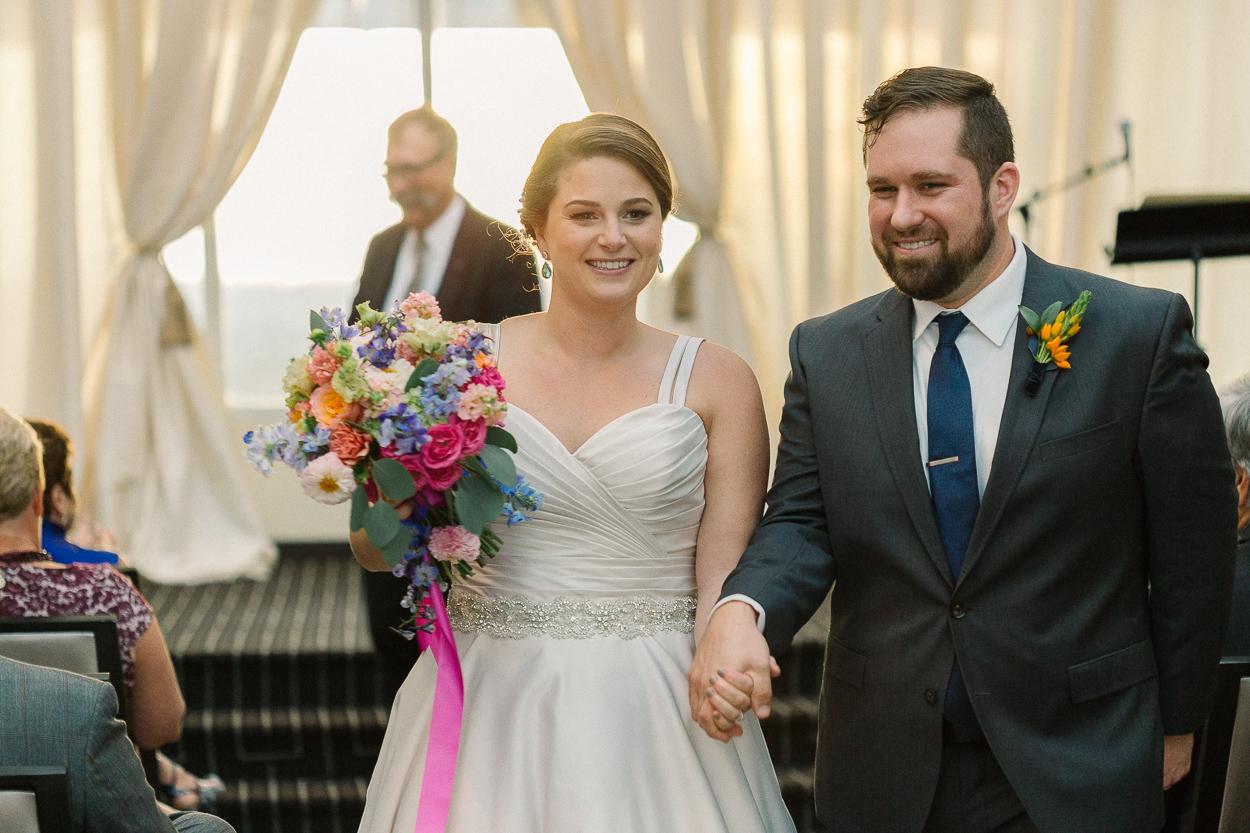 recessional-tower-club-wedding-ceremony