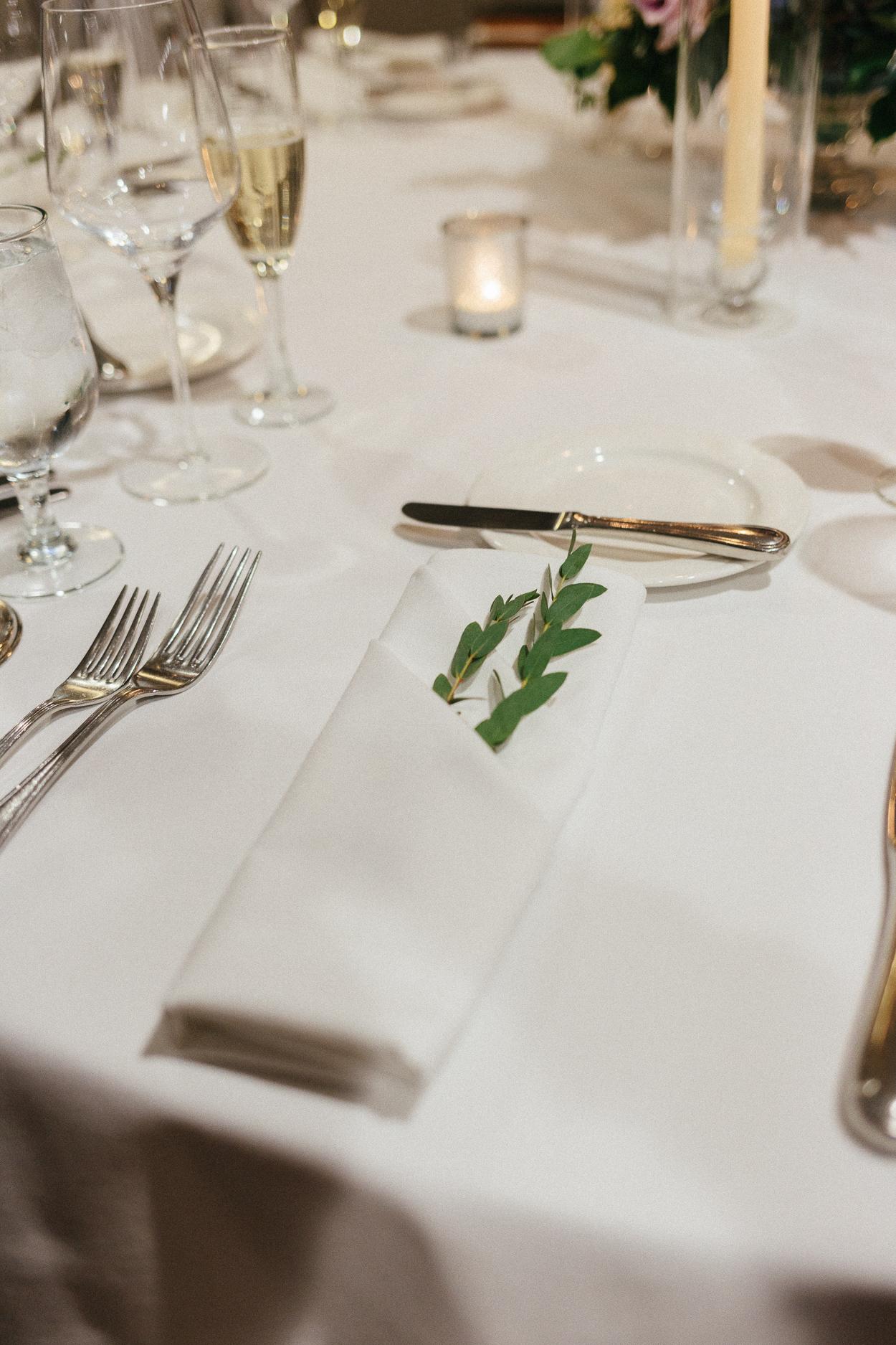 tower-club-wedding-reception-place-setting-greenery
