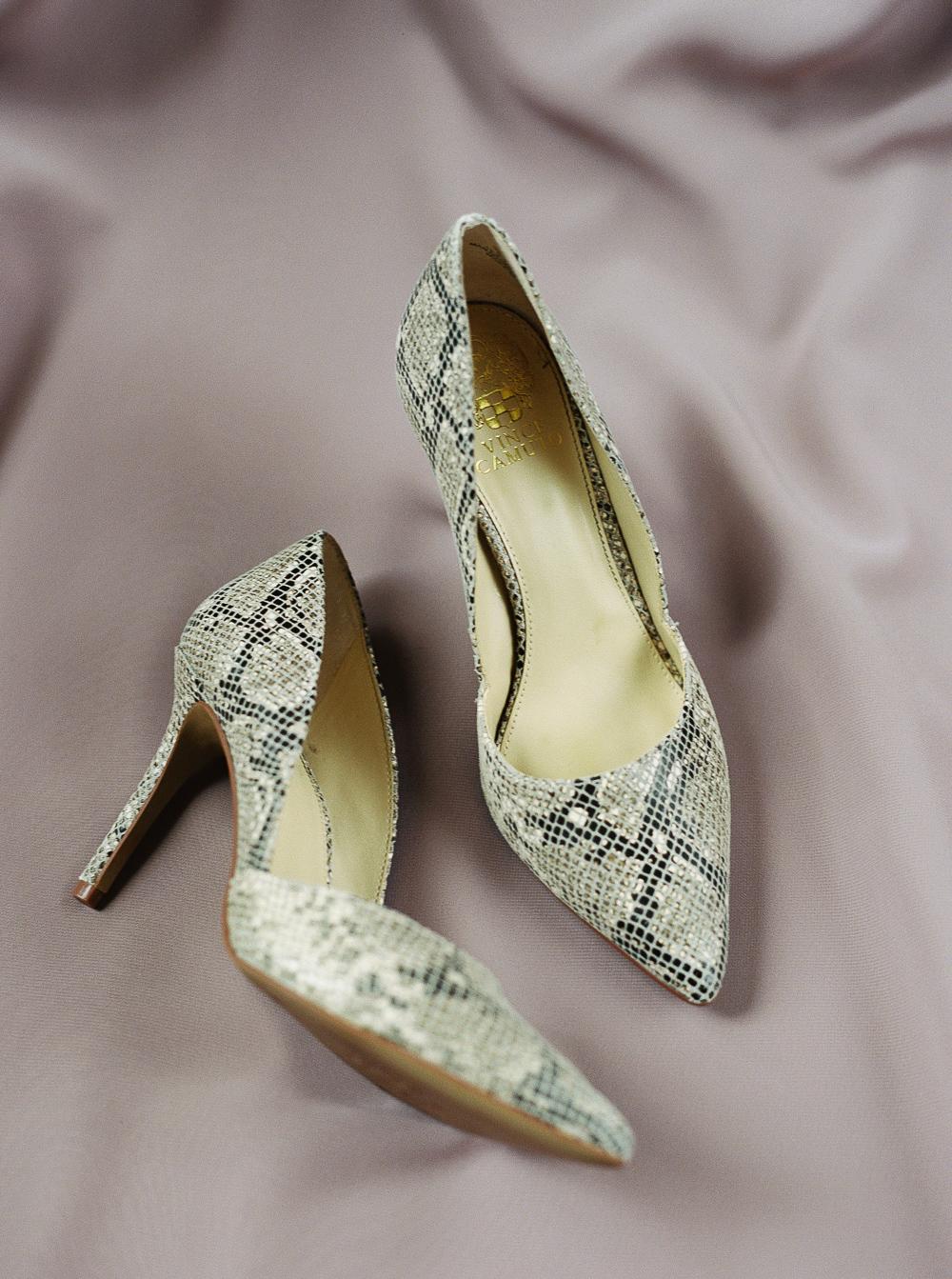 vince-camuto-snakeskin-heels-wedding-day
