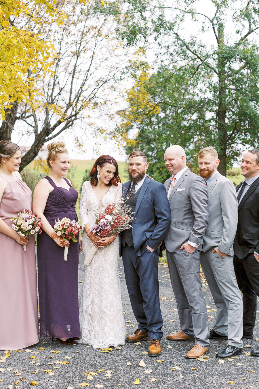 rainy-wedding-day-bridal-party-michelle-whitley