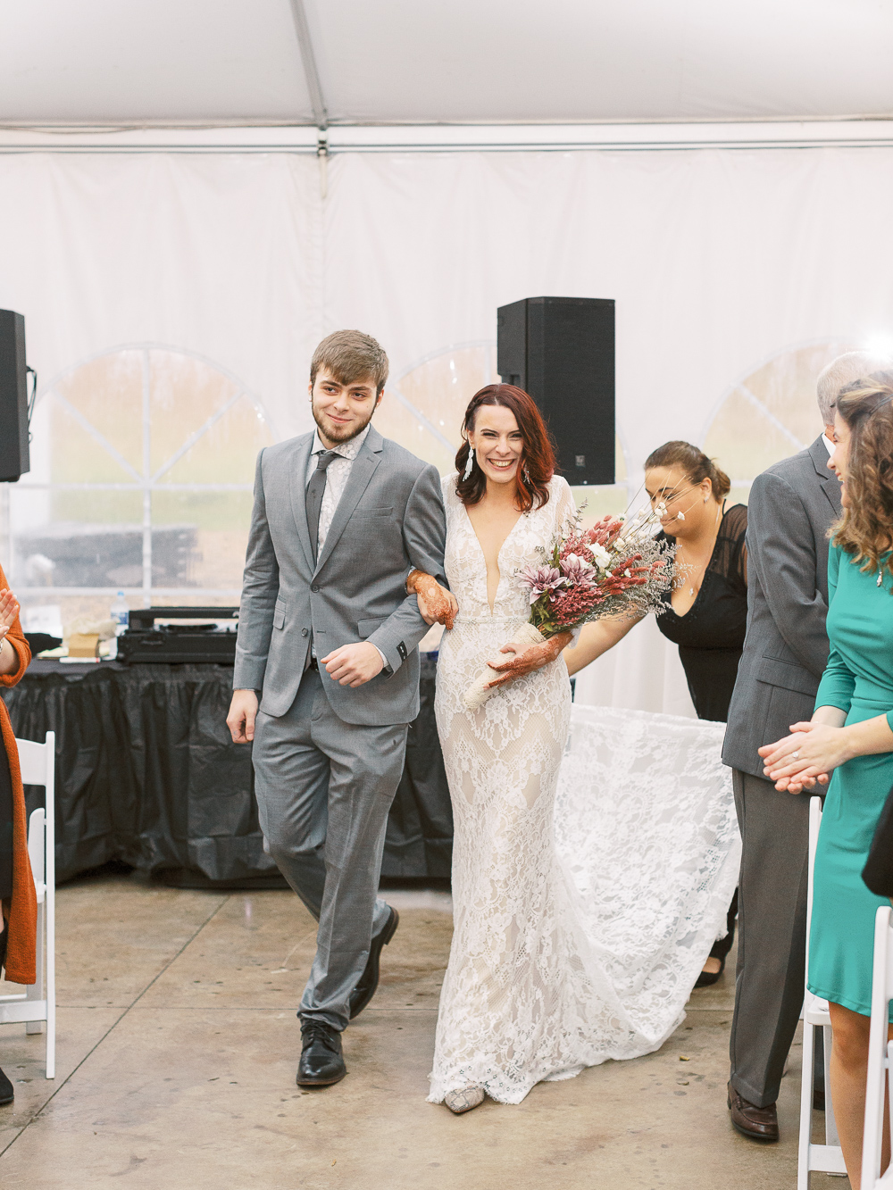 bride-down-the-aisle-michelle-whitley-ijamsville-photographer