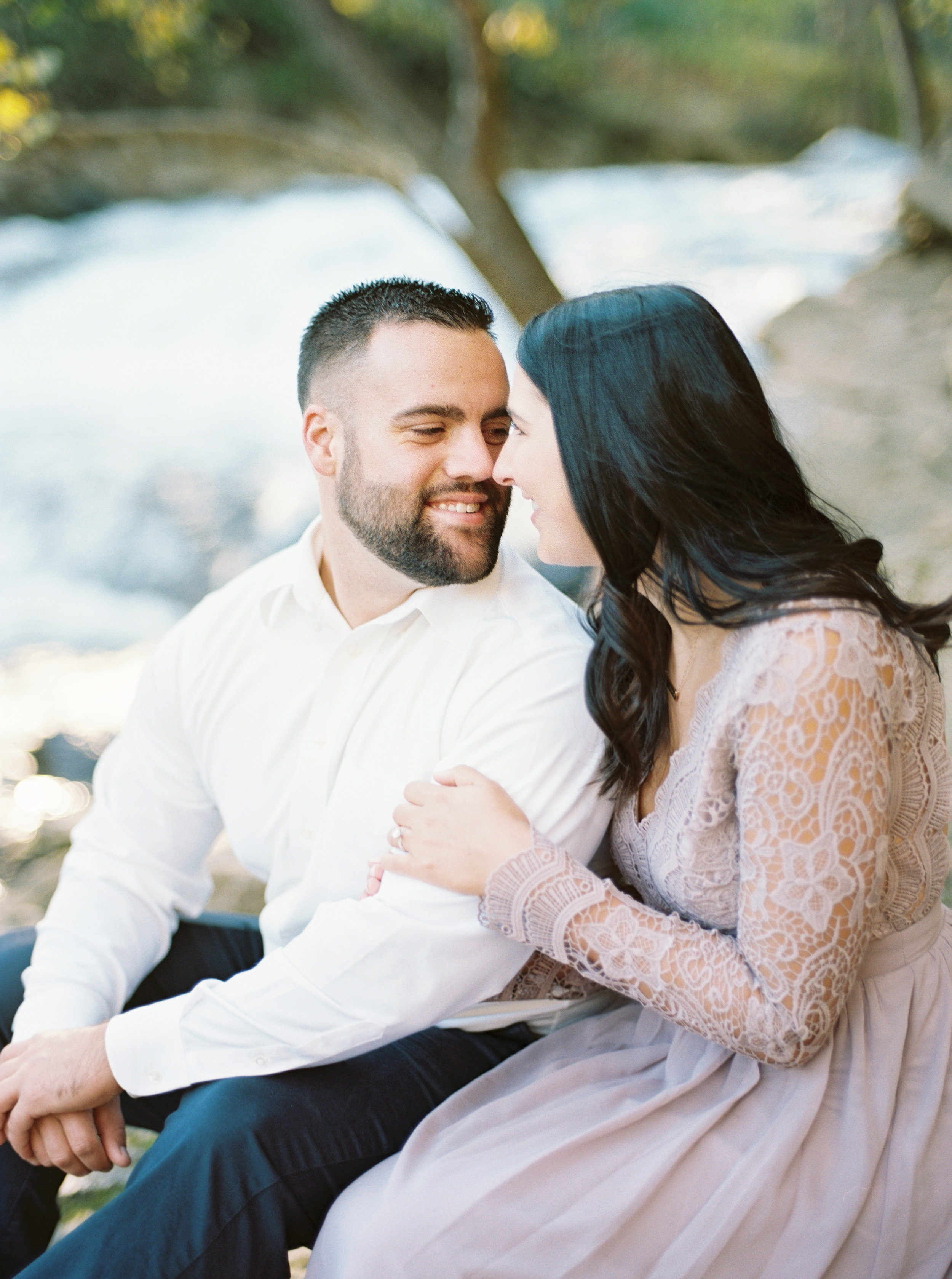 waterfall-engagement-session-maryland-photographer