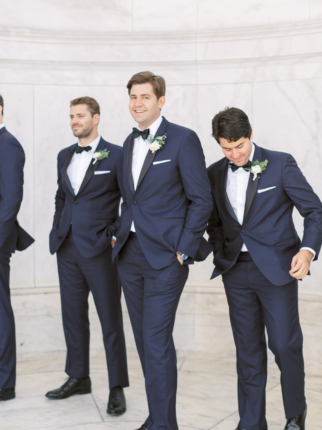 luxury-navy-grooms-tux-lapel-brand