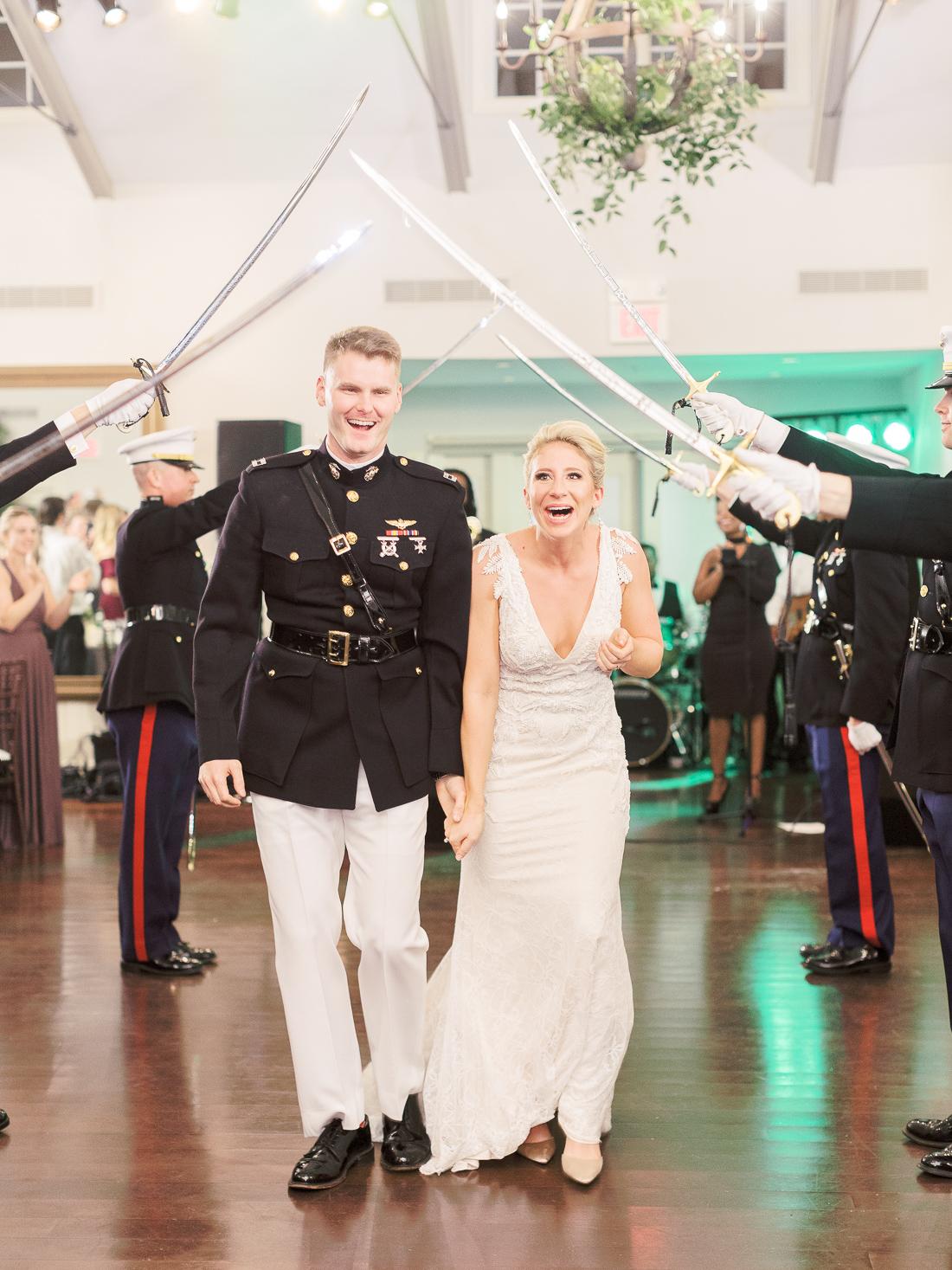 marine-wedding-sword-arch-ceremony-cute