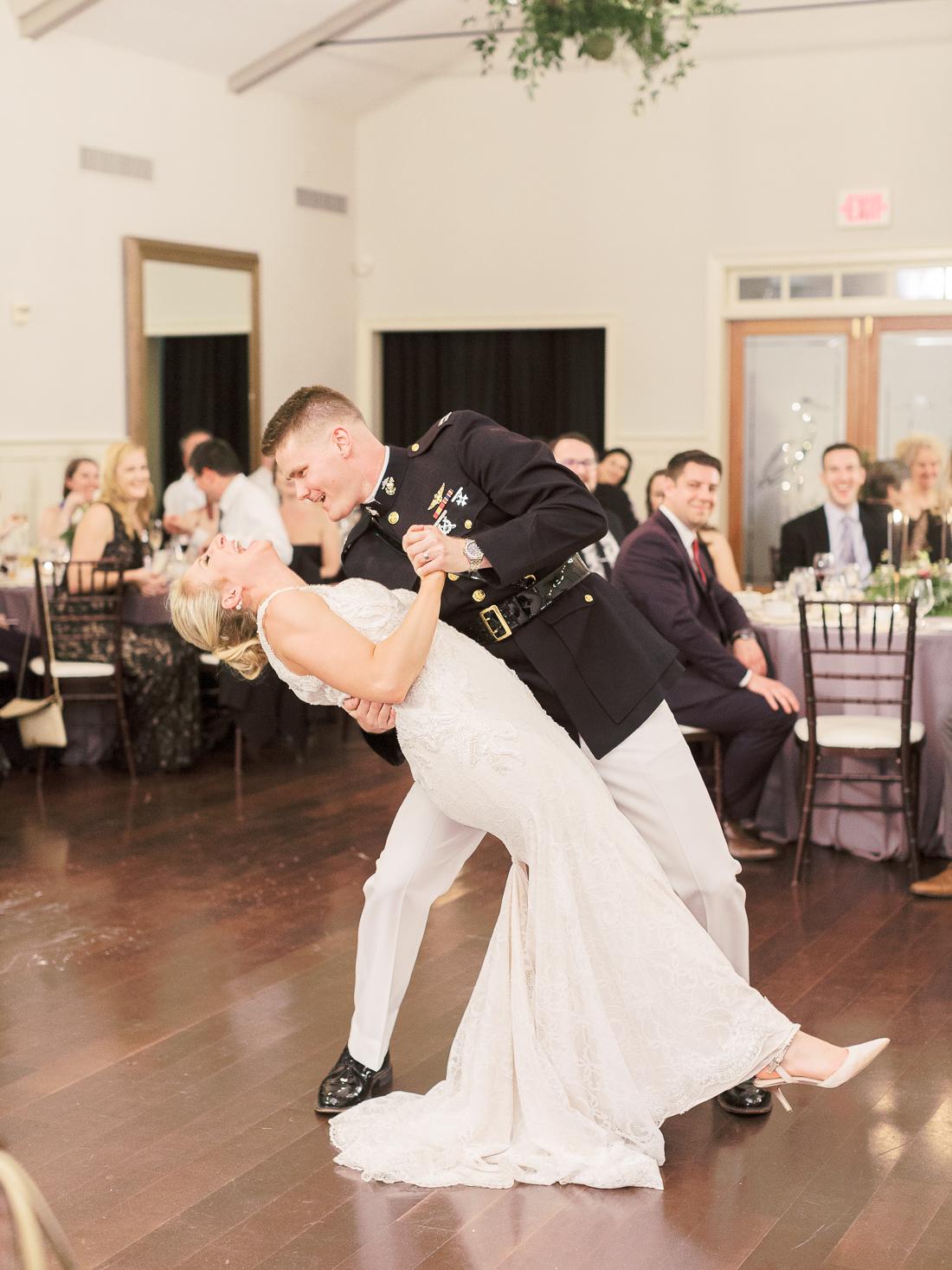 chesapeake-bay-beach-club-reception-first-dance-dip