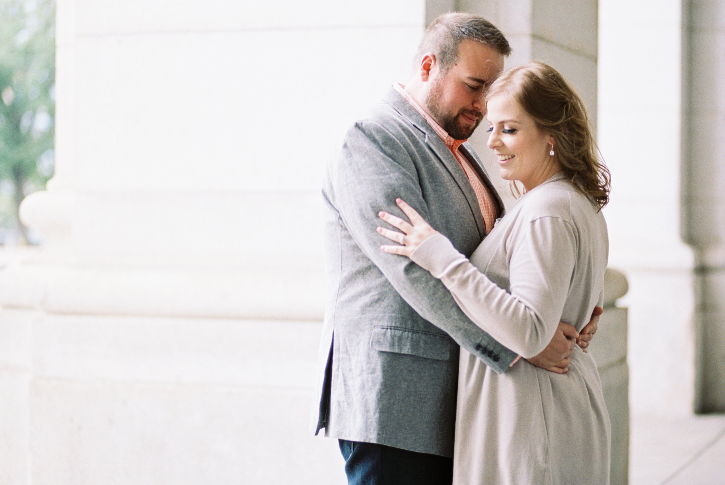 Union Station engagement session in DC