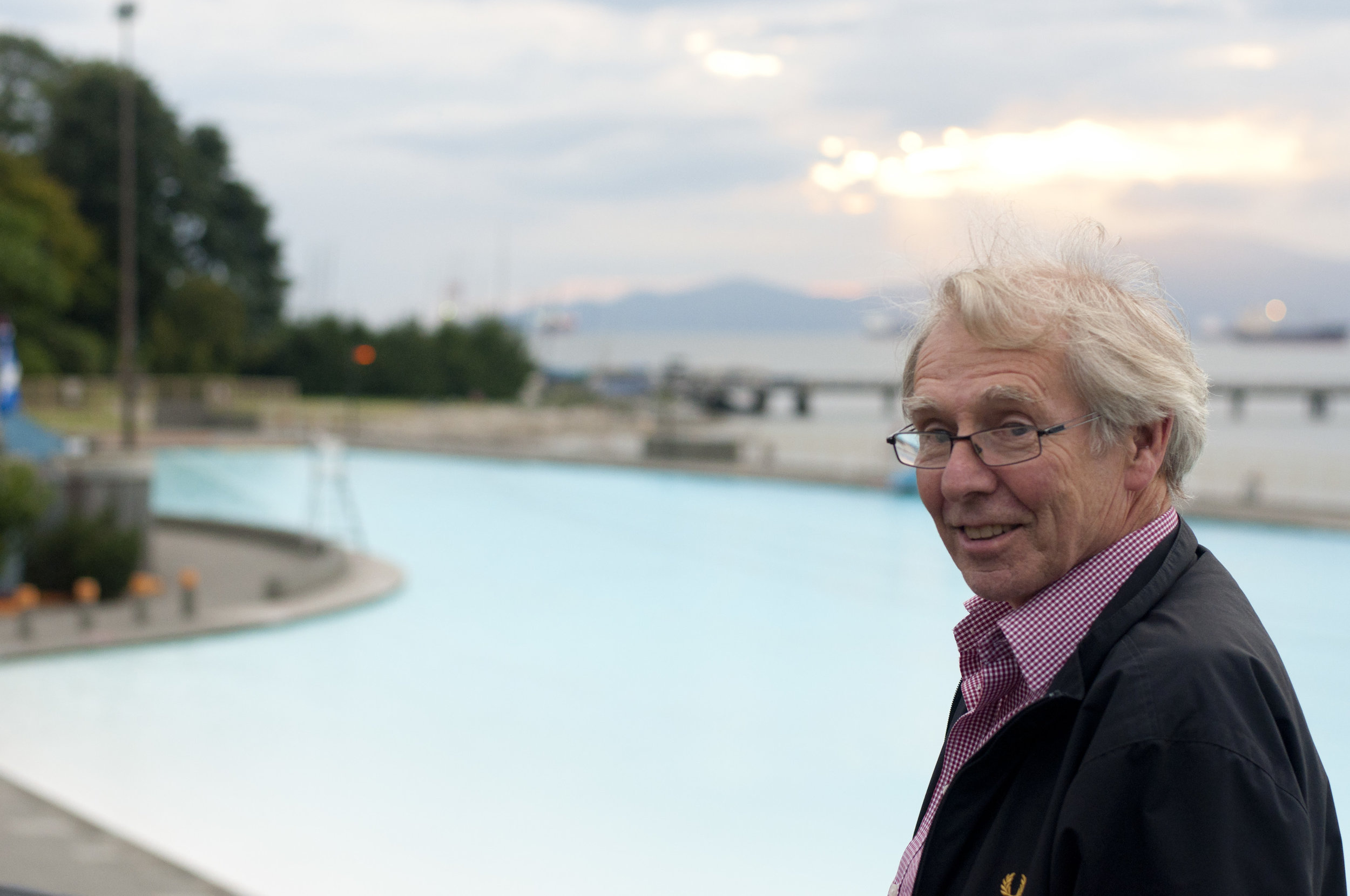 John Bingham , of Bingham + Hill Architects, was the project architect for the pool's renovation