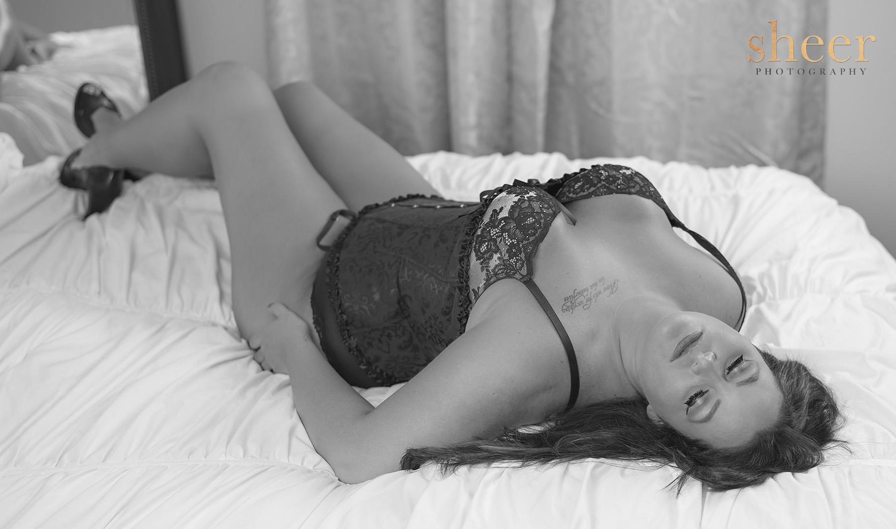 Sheer boudoir