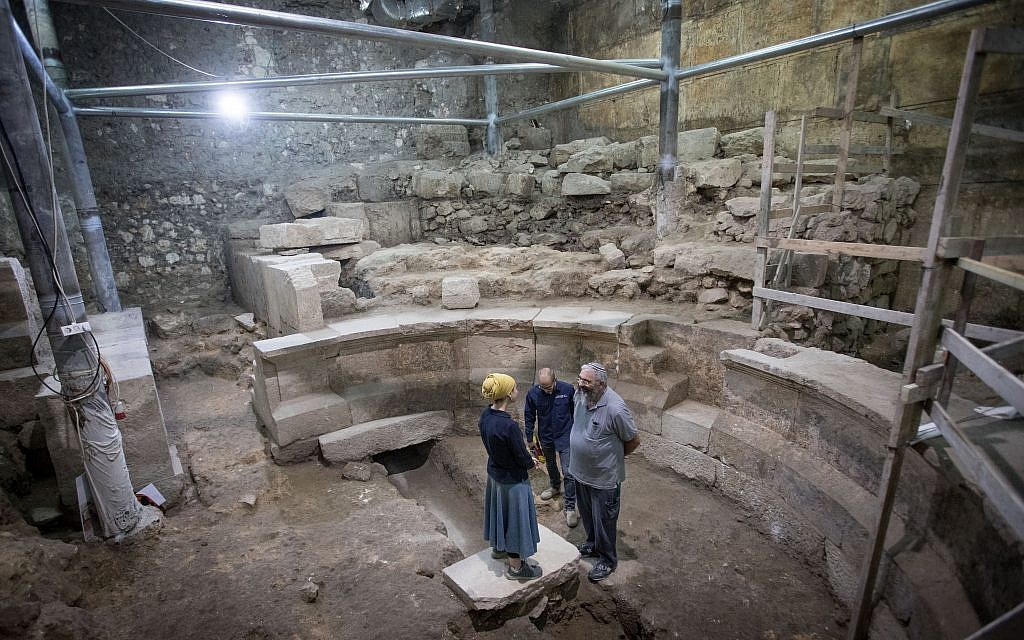 (Photo: Yaniv Berman, courtesy of the Israel Antiquities Authority)