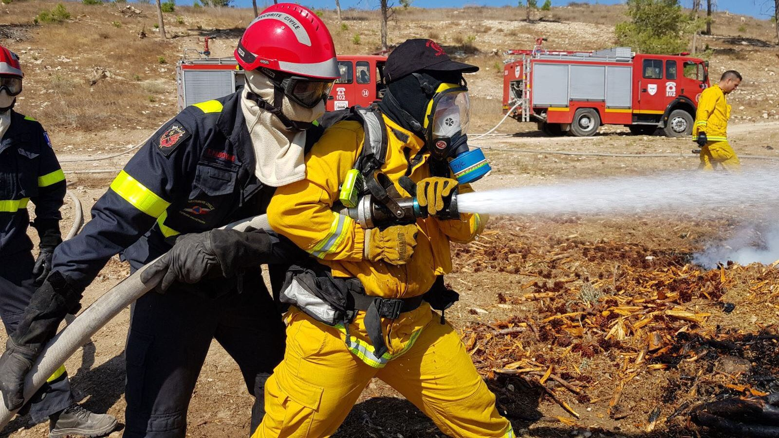 (Photo:Israel Firefighting and Rescue Authority)