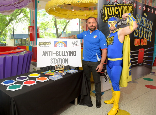 Señor Sour with WWE Superstar Santino Marella
