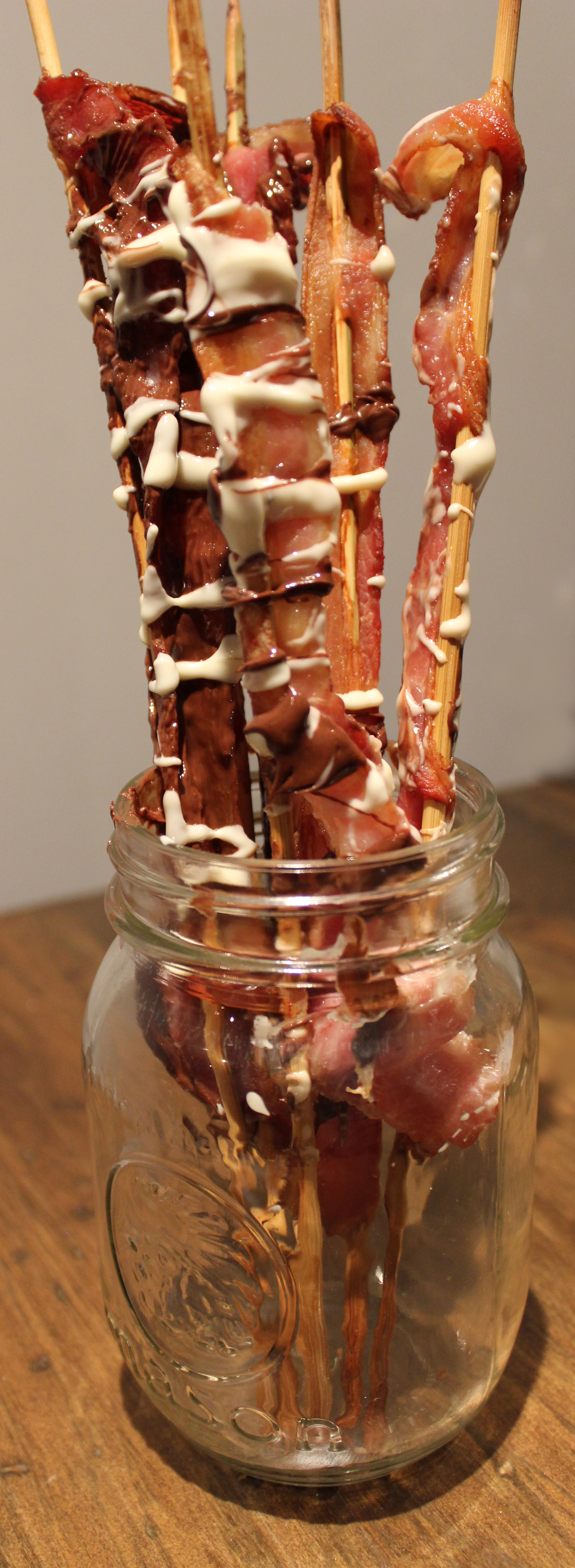 Chocolate Covered Bacon.