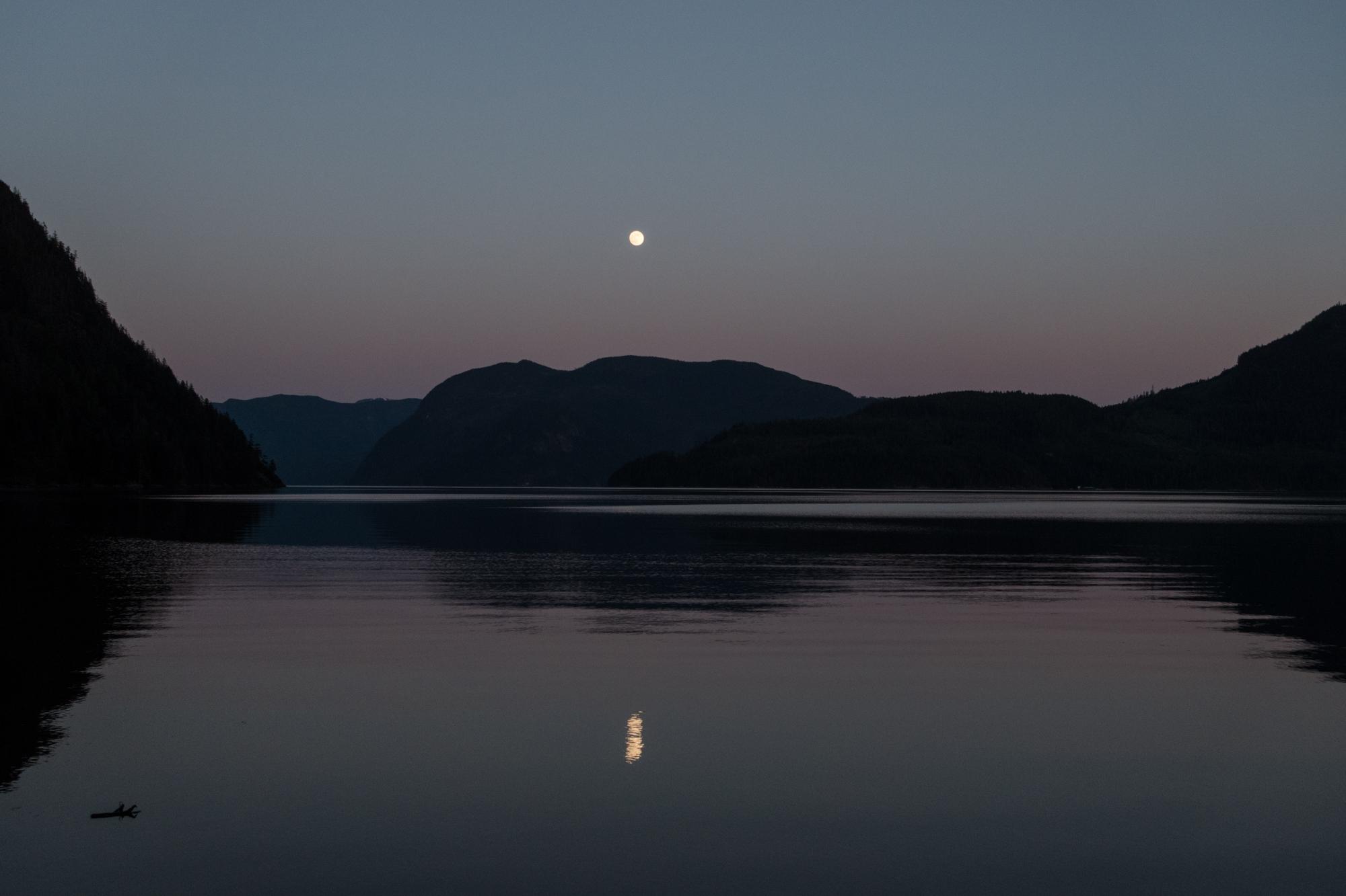 Full Moon Over Douglas Bay