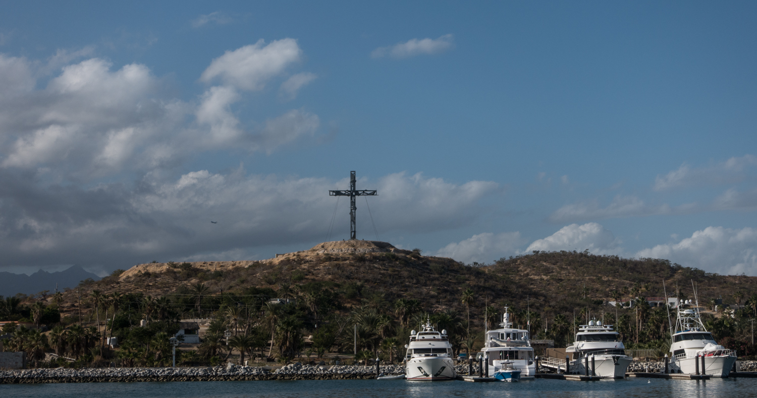 View from our slip, Puerto Los Cabos marina