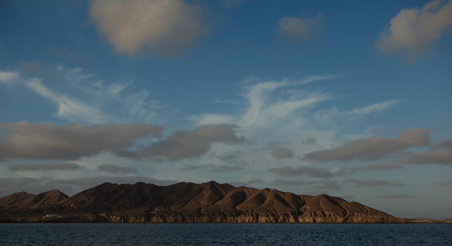 Bahia Tortuga. Much of the Baja coastline was like this - austere, remote, beautiful.