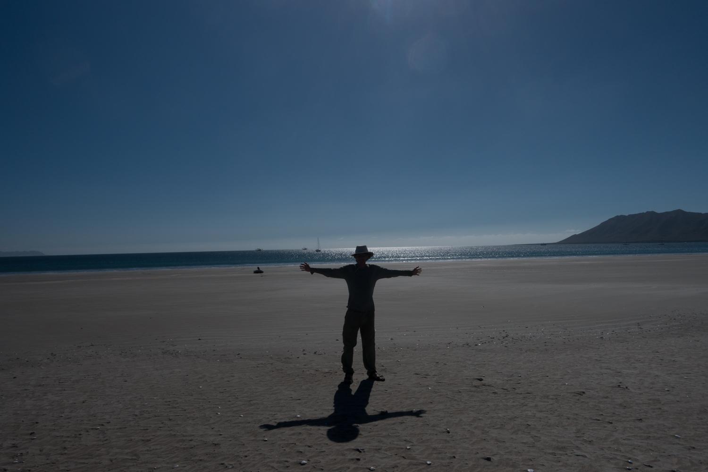 Shore leave, Bahia Santa Maria
