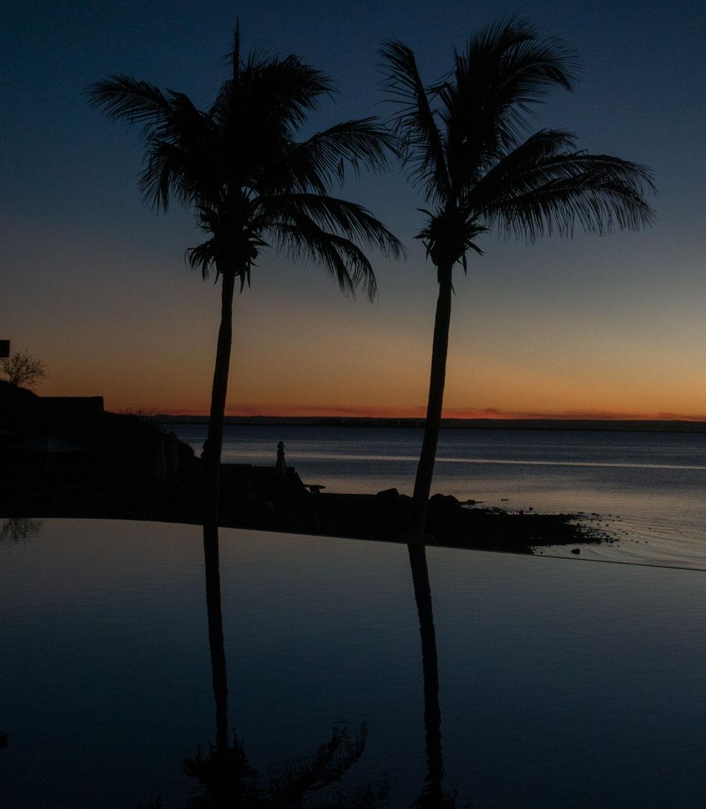 Sunset at Costa Baja.