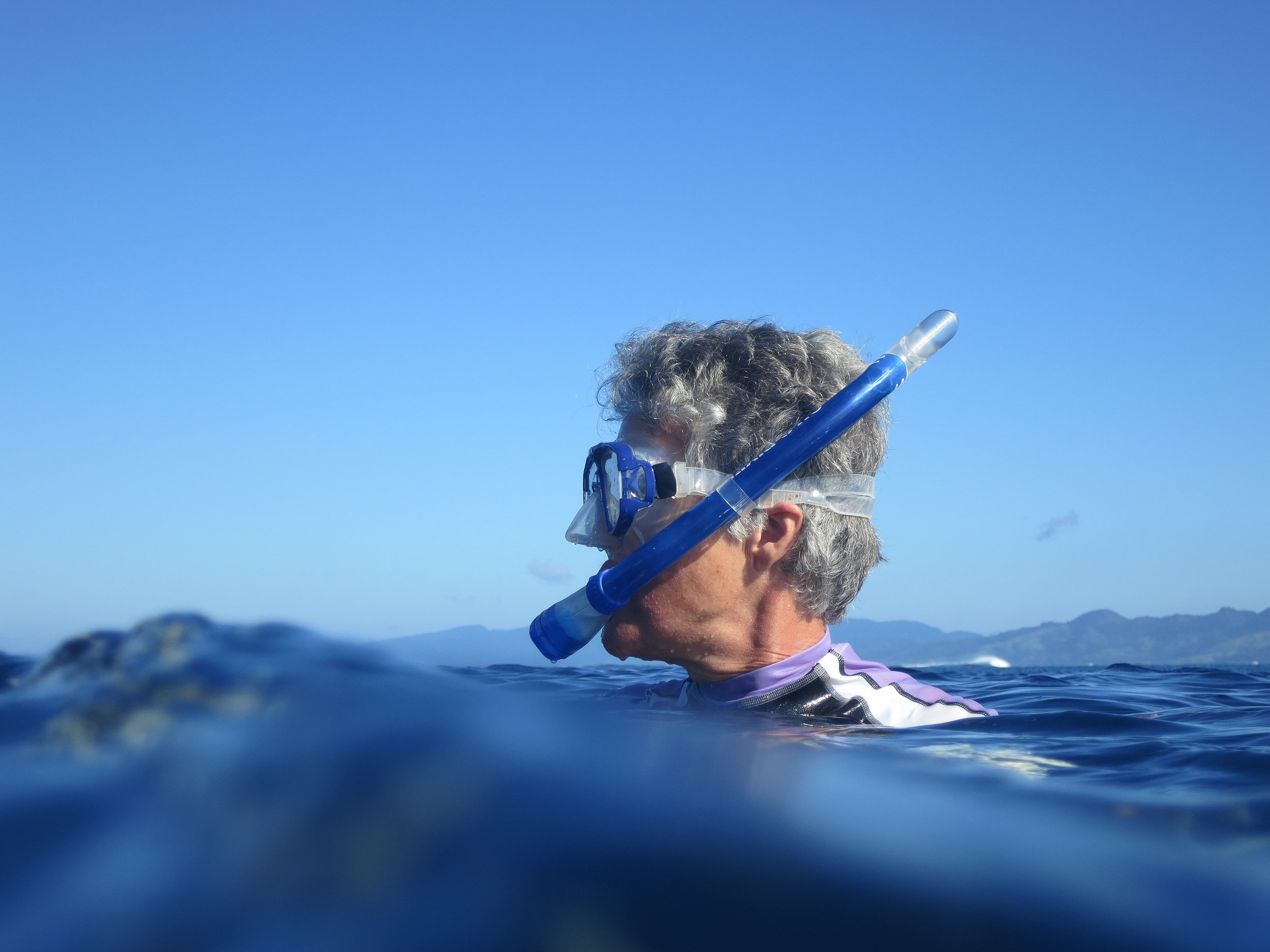 Snorkeling with Ruth