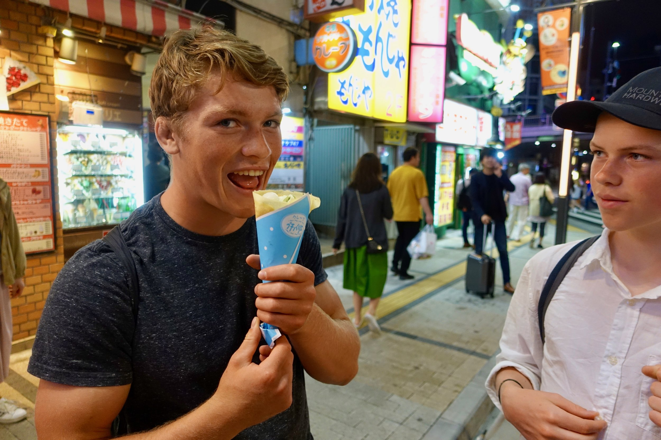 So much good food in Japan! We were on a non-stop search for delicious meals, and snacks.