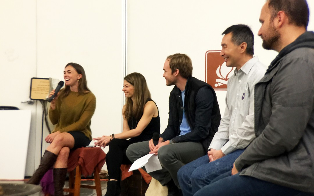 Networking panel with esteemed guests provide insights to dmba students