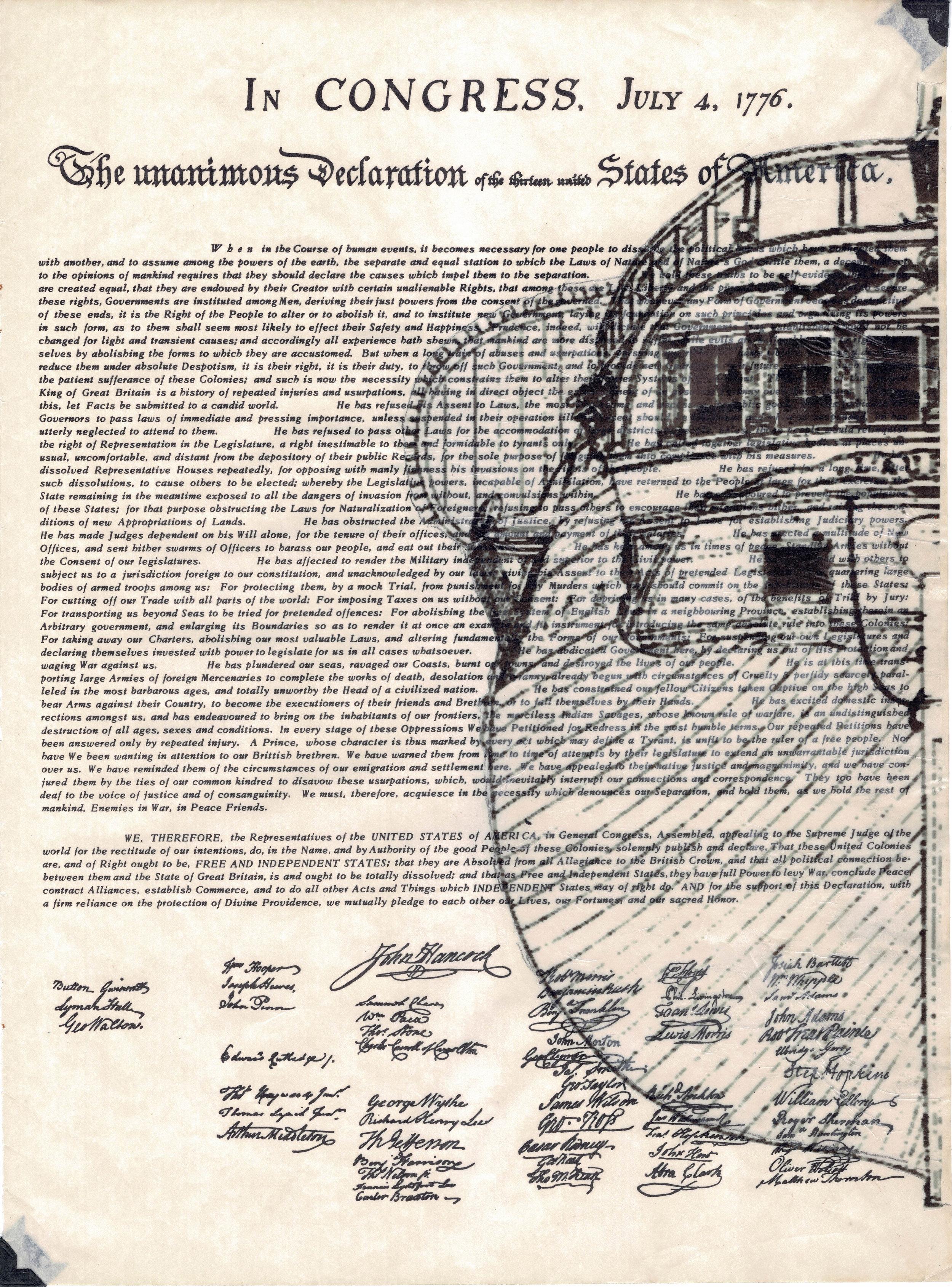 drék davis, 3. Liberty Annotated, The Declaration of Independence (2018) med.jpg
