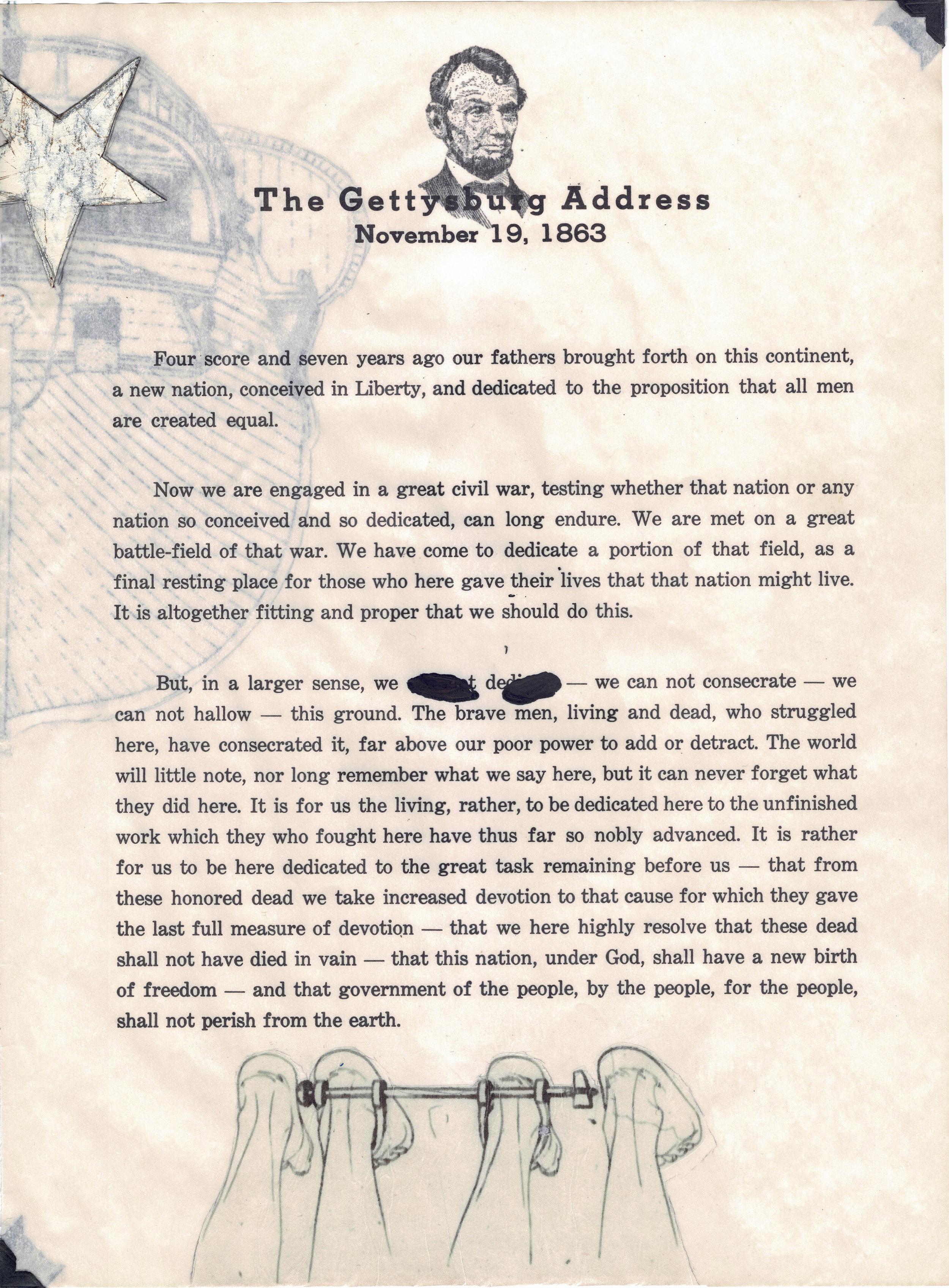 drék davis, 9. Liberty Annotated, The Gettysburg Address (2018) med.jpg