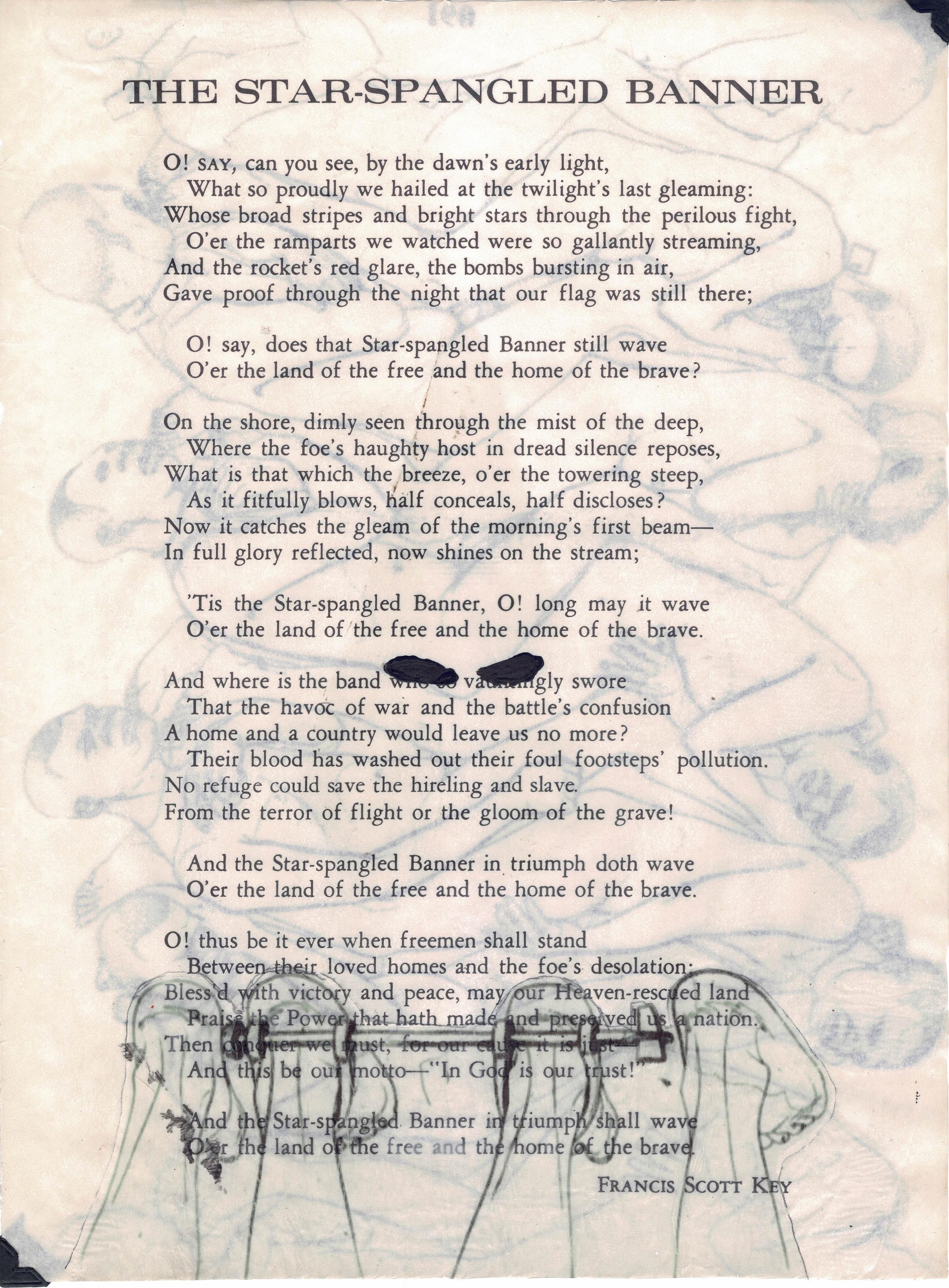 drék davis, 10. Liberty Annotated, The Star Spangled Banner) (2018) med.jpg