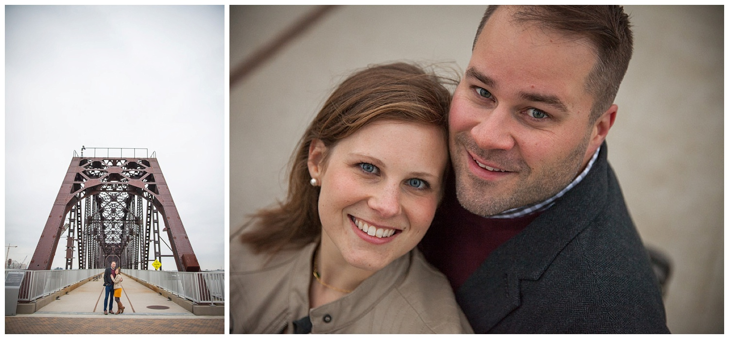 Big 4 Bridge :: Louisville Engagement Session