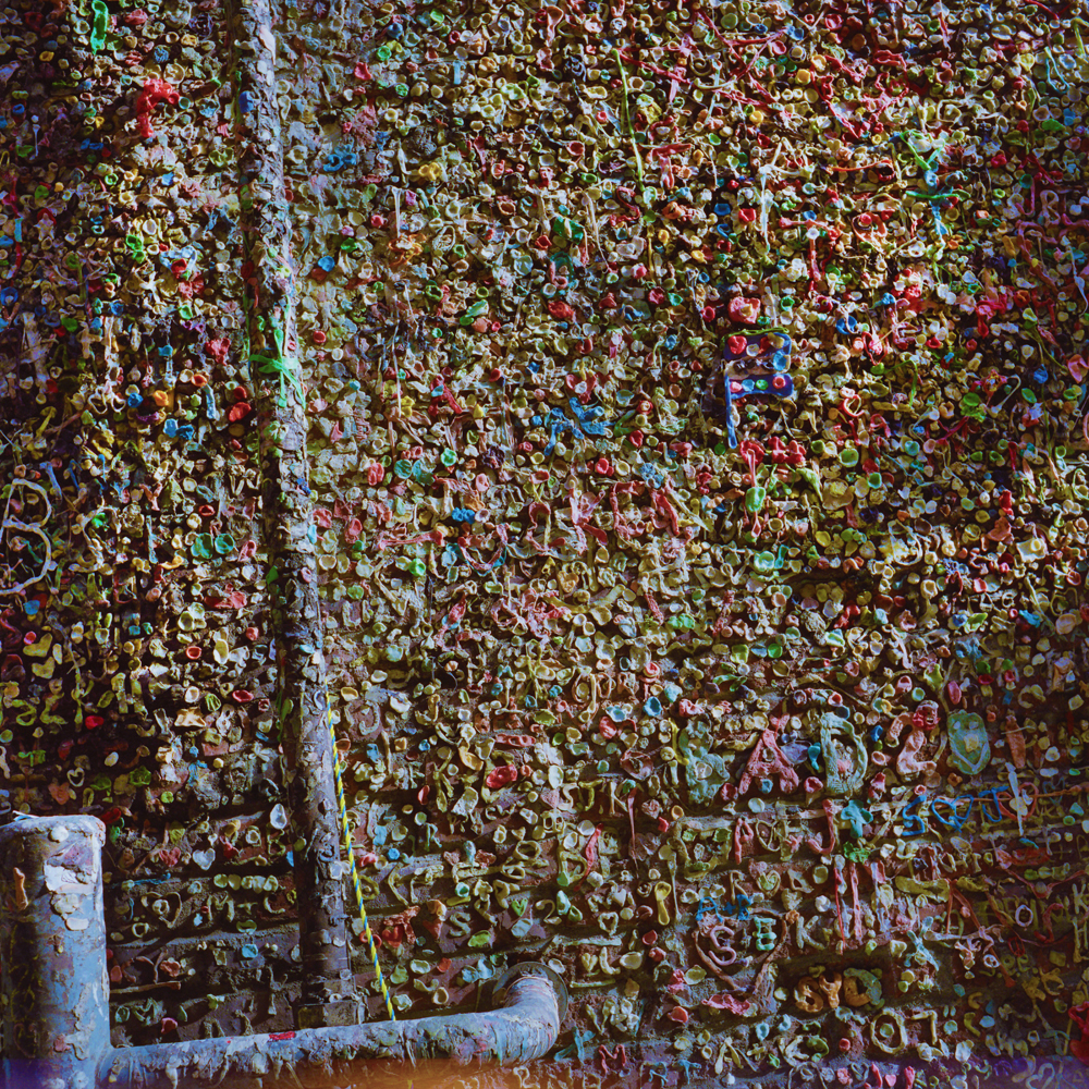 Gum Alley, Seattle 2012 120mm Colour Photograph