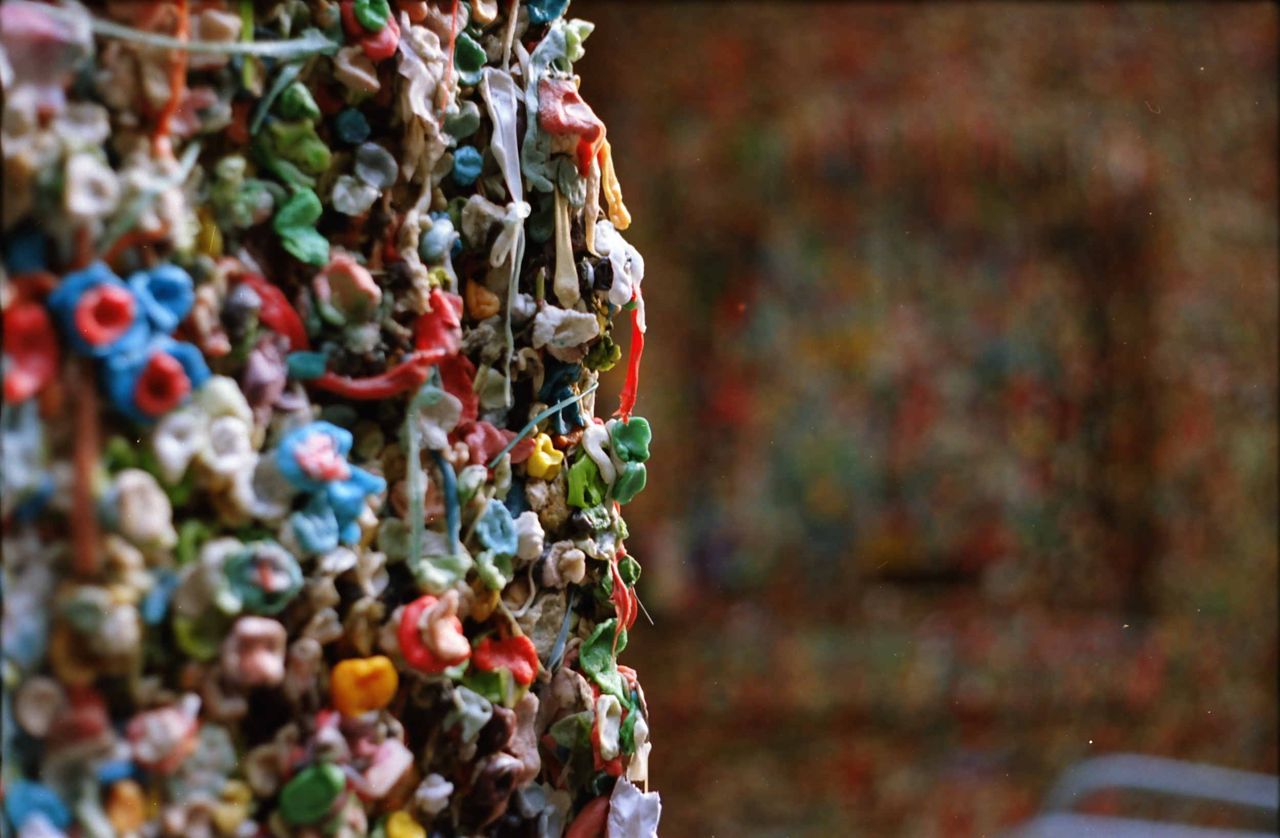 Gum Alley, Seattle, 2012 35mm Colour Photograph