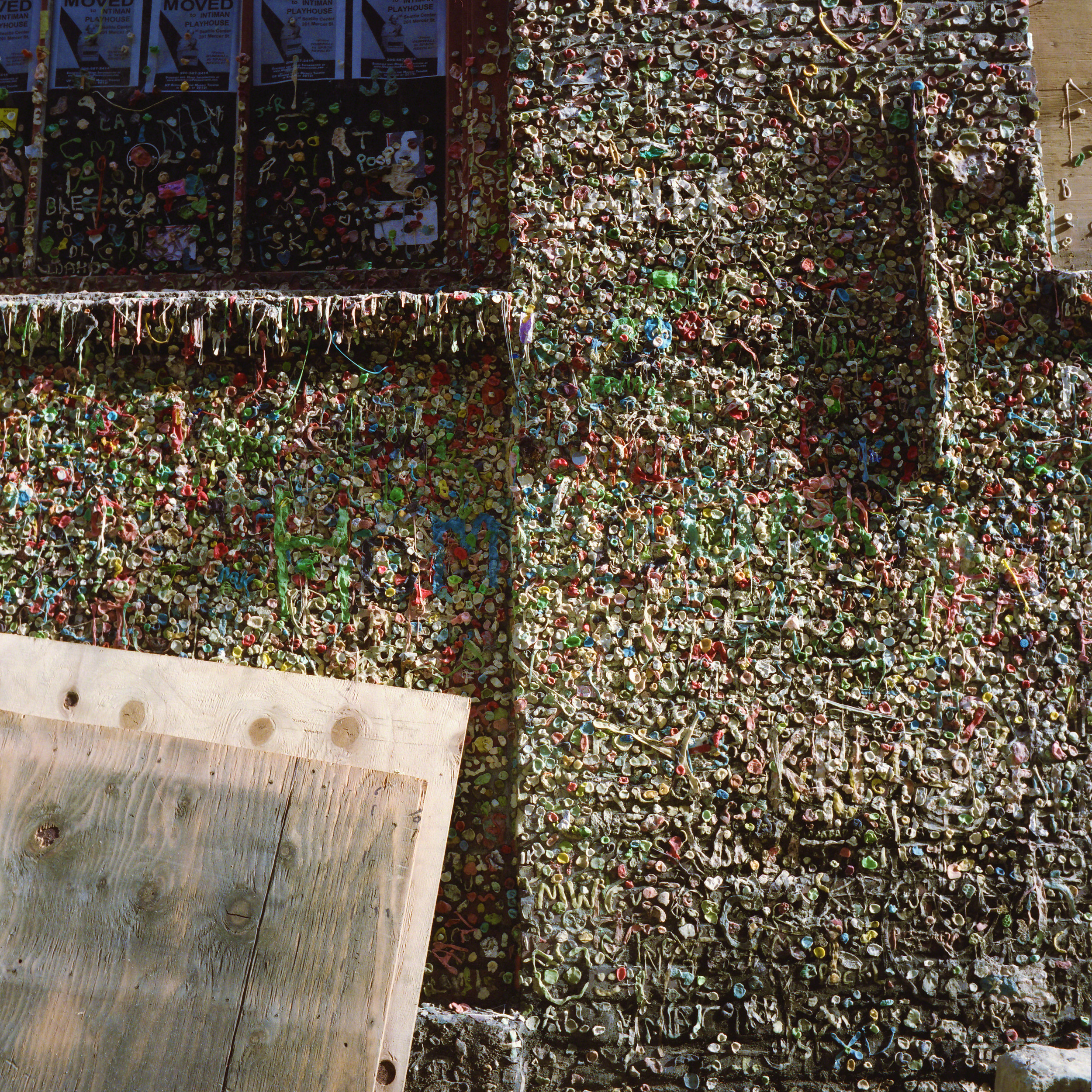 Gum Alley, Seattle, 2012 120mm Colour Photograph