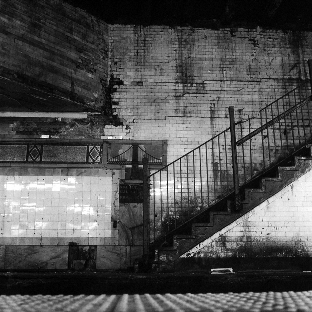 Chambers Street Subway Station, New York, New York 2012 B&W Print