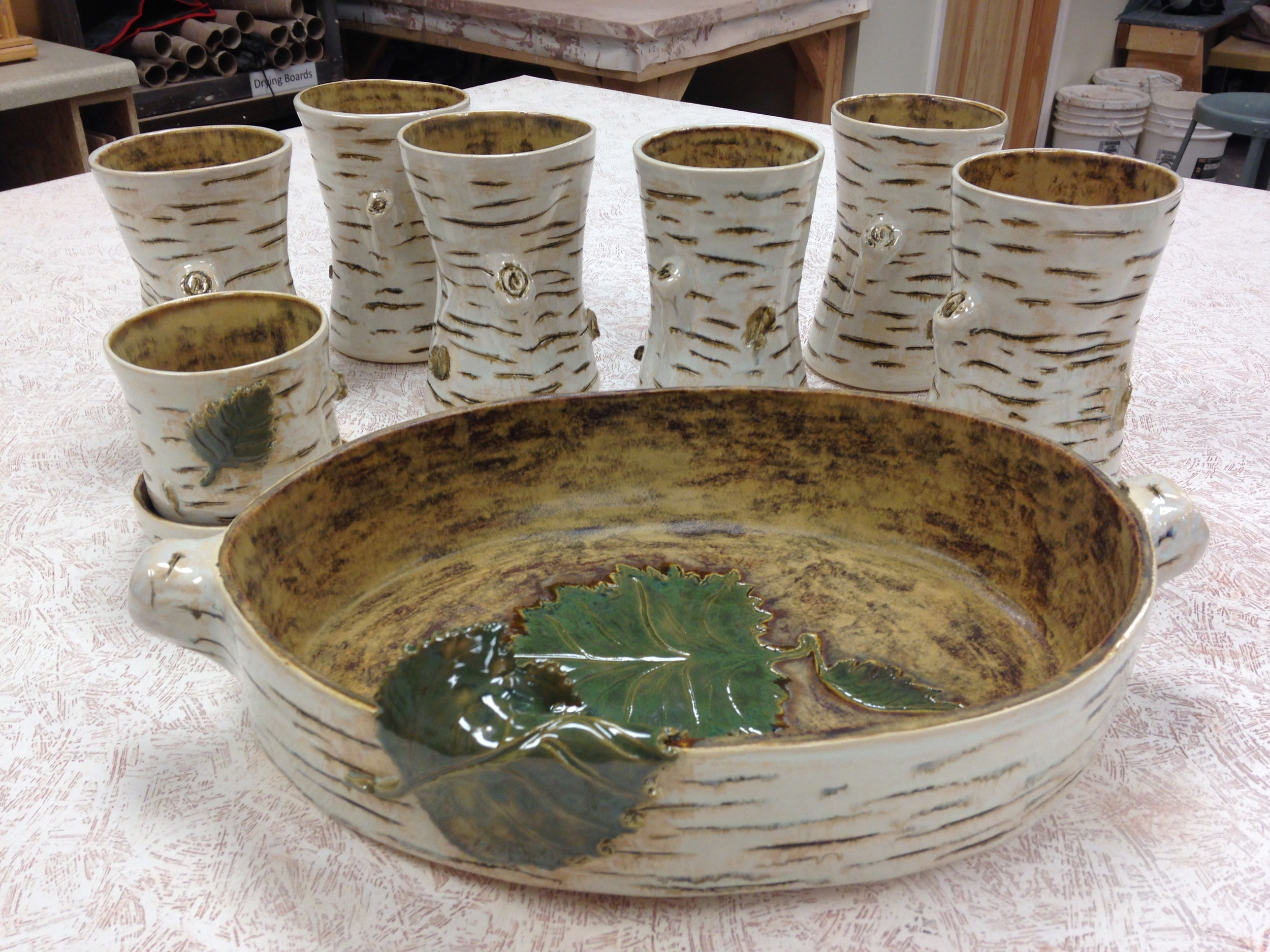 pottery commissions