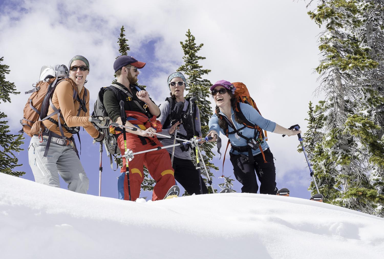 Ski Dance Party - Elk Range, CO