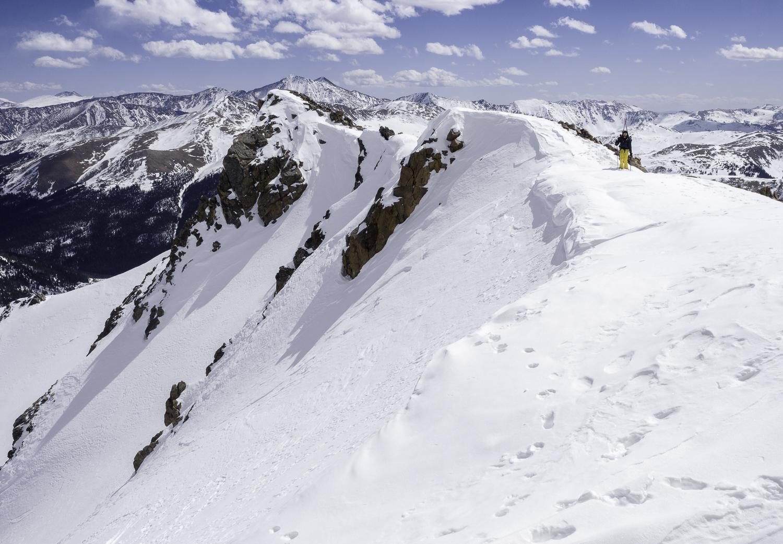 The Citadel's SE Ridge - Front Range, CO