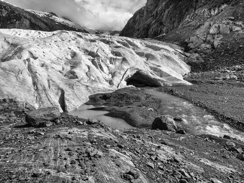 Glacier Cave - Blackstone Bay, AK