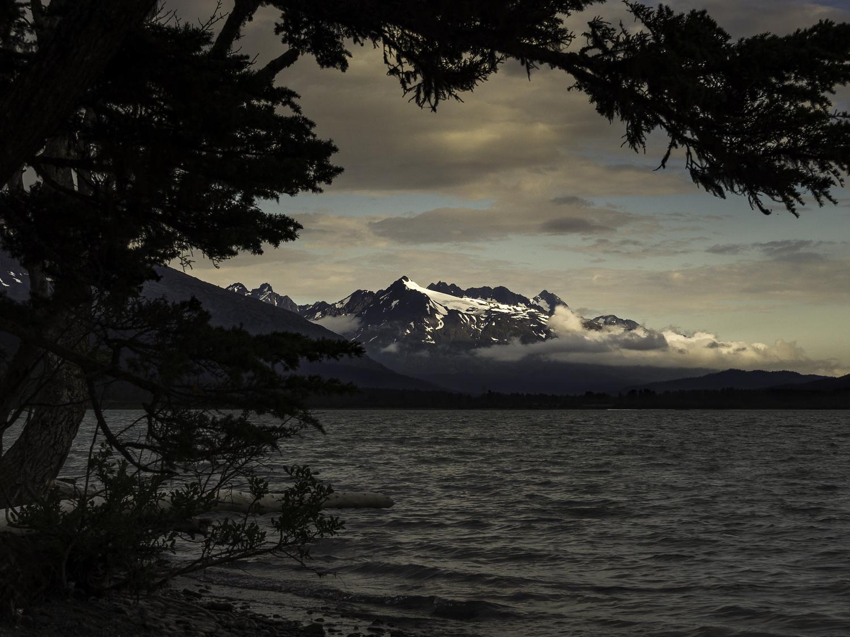 Kenai Mountain Sunset - Kenai Lake, AK