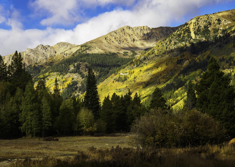 Looking toward Mt. Sayres - Sawatch, CO