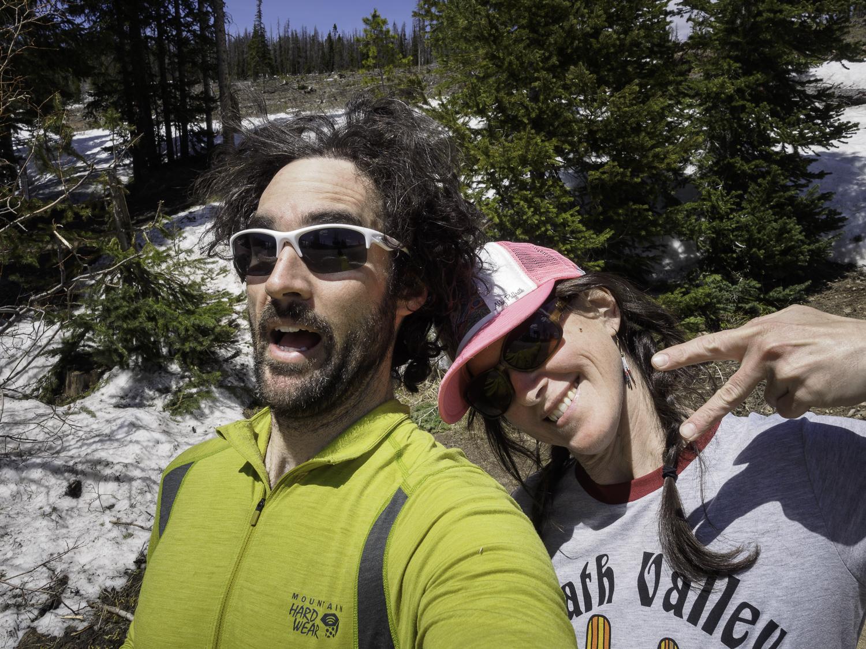 Ski Apres Parking Lot Party - Me & Lynn