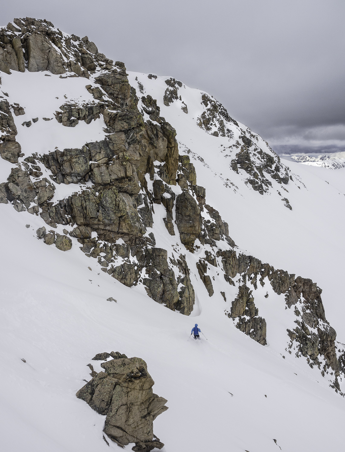 """The Way Back Couloir"" - Jonah"